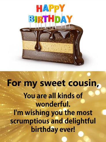happy birthday cousin image1