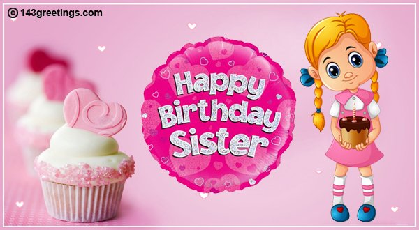 birthday message for sister image 3