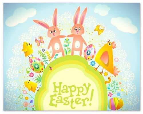 happy Easter image 1