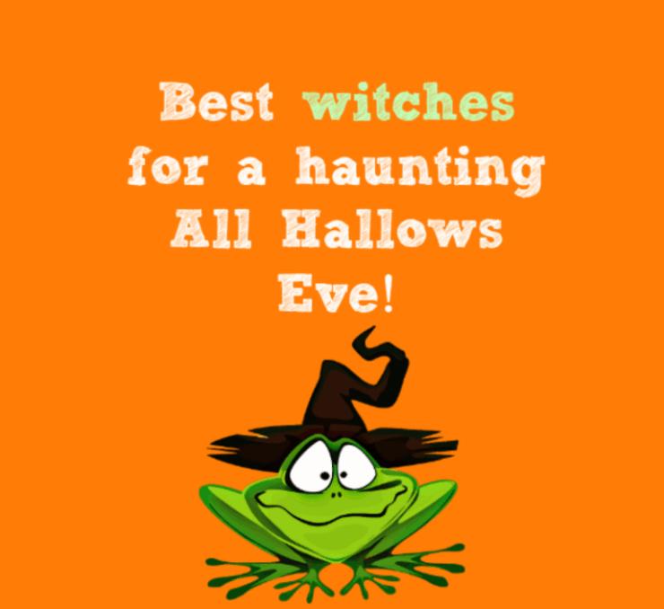 cute happy Halloween wishes