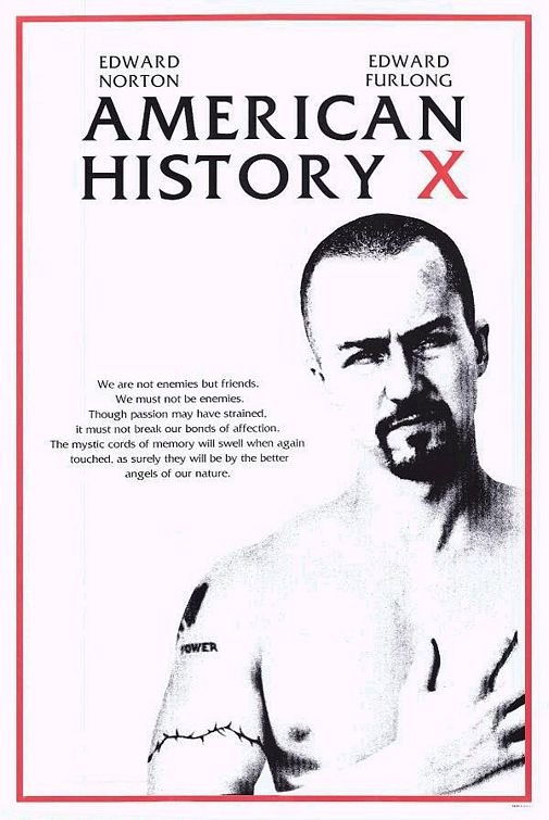 american history x - edward norton trained hard