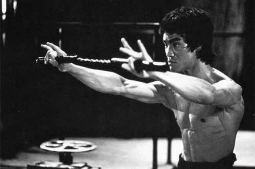 bruce lee enter the dragon training