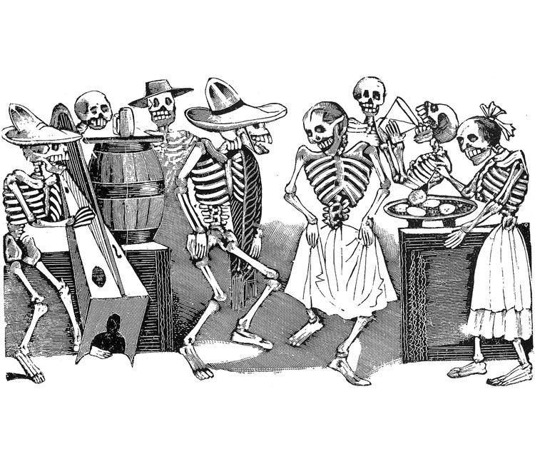 Resultado de imagen para calaveras de guadalupe posada