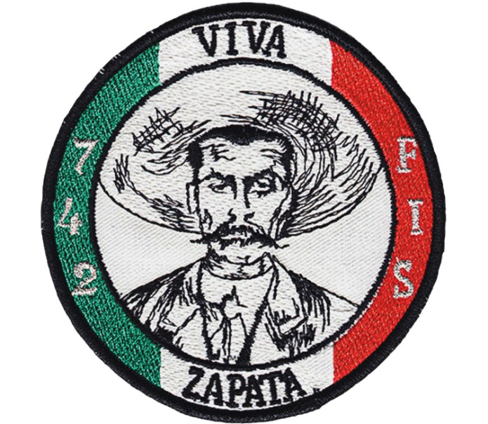 """Did you know that in Germany there is an air squad called """"Viva Zapata""""?"""