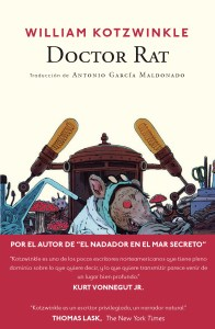 Doctor rat, william kotzwinkle, navona, relatos en construcción, portada