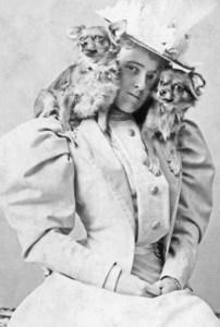 edith wharton, retrato, perros