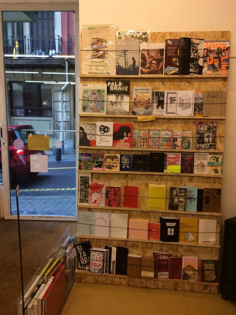 anti, librería, liburudenda, fanzines, autoedición
