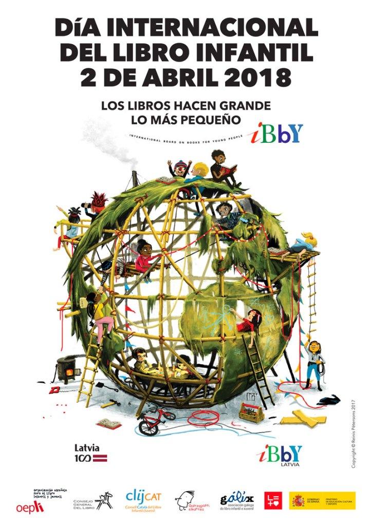 dia internacional del libro infantil, 2018, cartel,