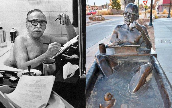 Dalton trumbo, bañera