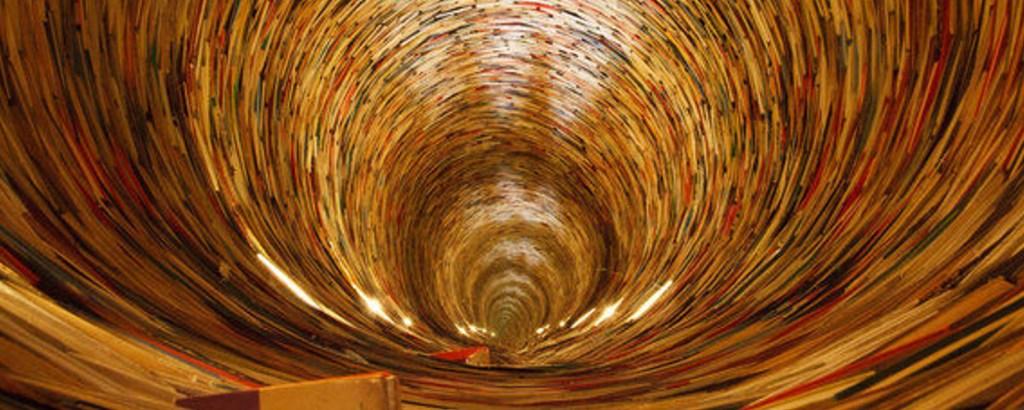 Matej Kren: un infinito hecho de libros