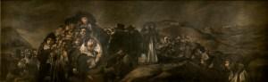La romería de San Isidro. Goya, 1823