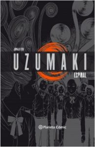 uzumaki, junji ito, planeta comic