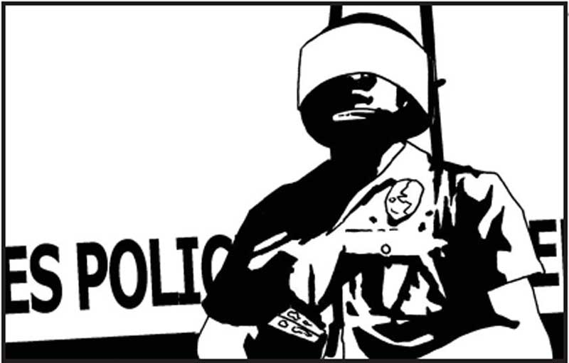Policia de Los Angeles slang relatos escritos