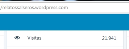 22000 visitas screenshot - relatossalseros.wordpress.com