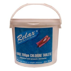 Relax 200g Chlorine Tabs 5kg RCH007