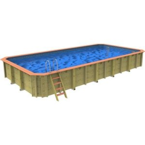 Chelsea Wooden Swimming Pool – 10m X 5m