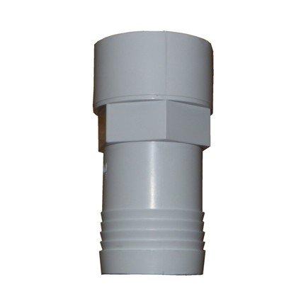 1.5in Hosetail Plain 65mm Length White