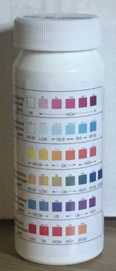 6 in 1 test strips from Relax Essex