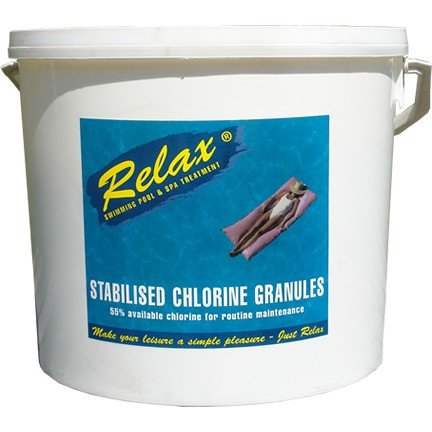 1 X 10kg Relax Stab Chlorine Granules Product Code : RCH004