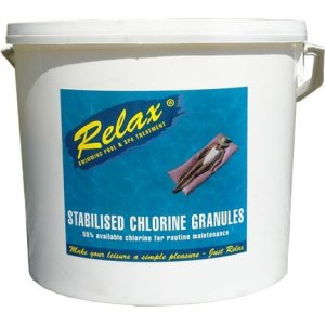 Relax Stab Chlorine Granules 1 X 10kg  Product Code : RCH004