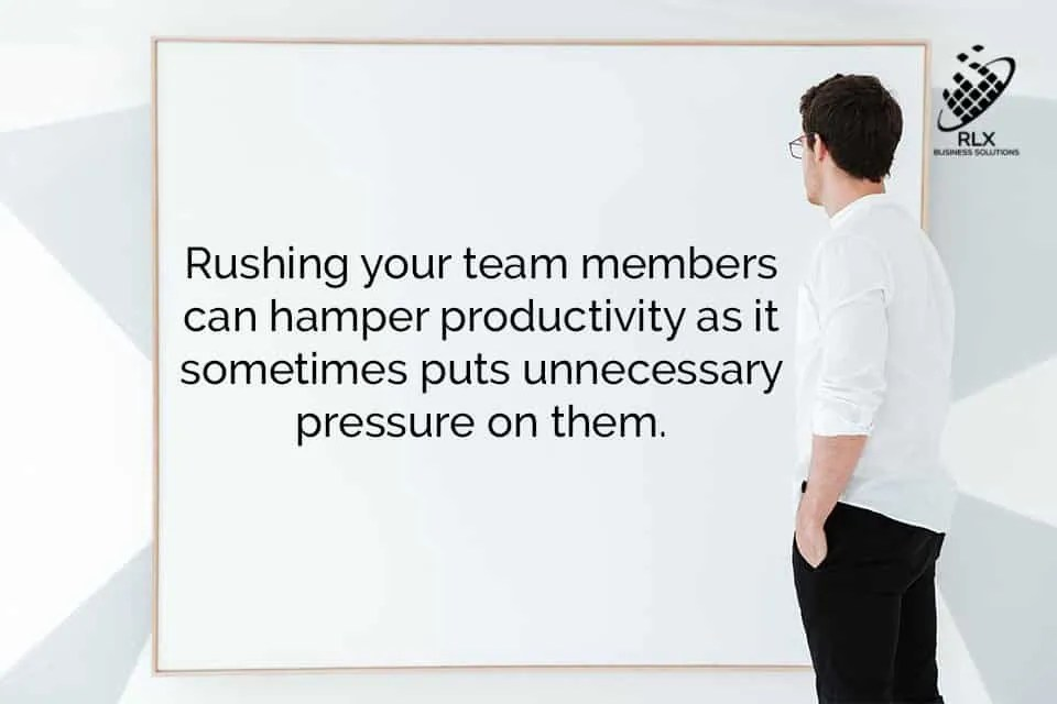 Improve Productivity with Patience