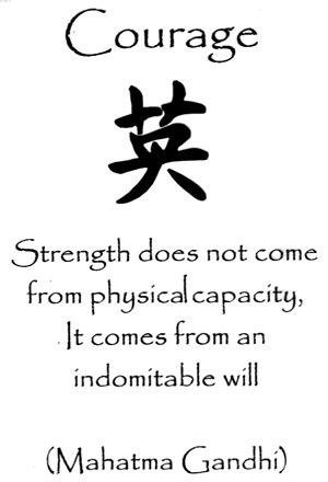 39 Relax and Succeed - Strength does not come from physical capacity