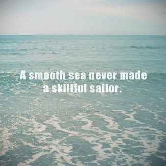 50 Relax and Succeed - A smooth sea