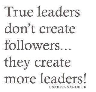 65a Relax and Succeed - True leaders don't create followers