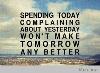 90 Relax and Succeed - Spending today complaining