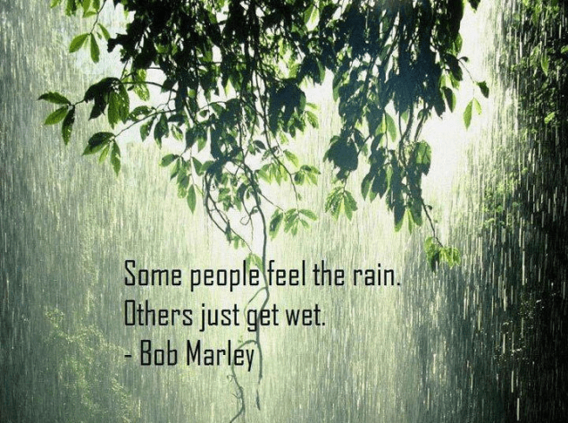 92 Relax and Succeed - Some people just feel the rain
