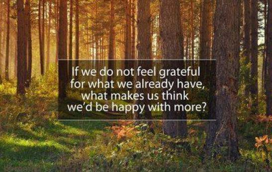 103 Relax and Succeed - If we do not feel grateful
