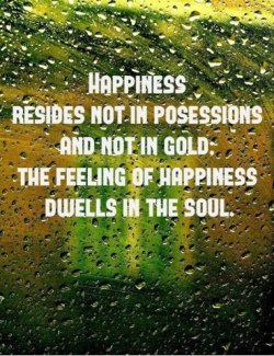 104 Relax and Succeed - Happiness resides not in possessions