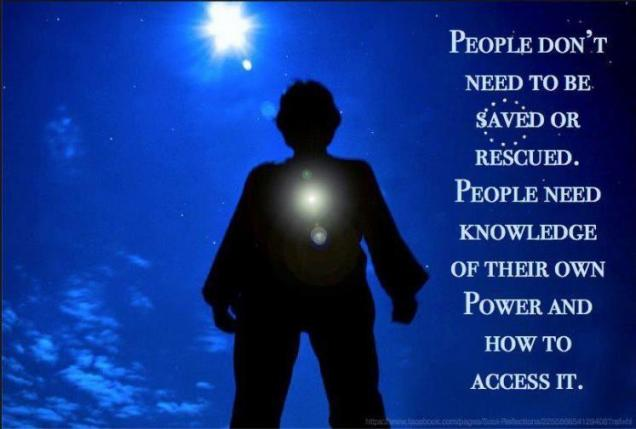 139 Relax and Succeed - People don't need to be saved