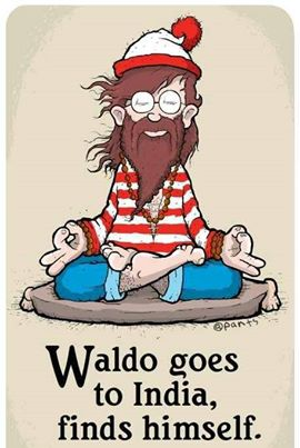 180 Relax and Succeed - Waldo goes to India
