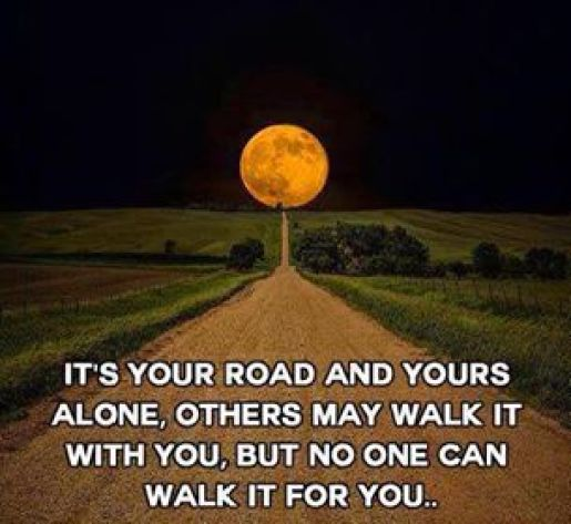 182 Relax and Succeed - It's your road and yours alone