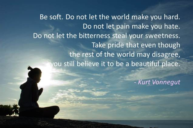 223 Relax and Succeed - Be soft Do not let the world