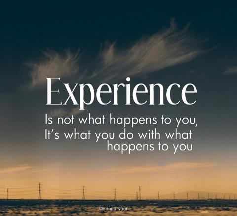 233 Relax and Succeed - Experience is not what happens