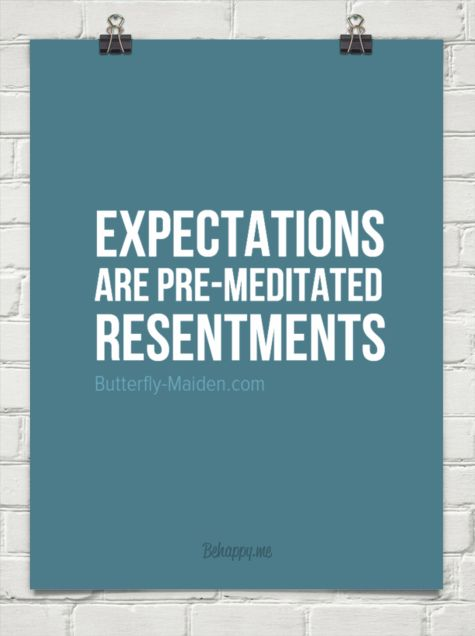 277 Relax and Succeed - Expectations are pre-meditated resentments