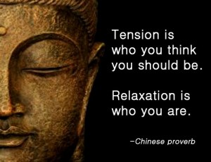301 Relax and Succeed - Tension is who you think
