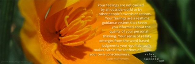 303 Relax and Succeed - Your feelings are not caused
