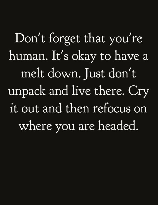 321 Relax and Succeed - Don't forget that you're human