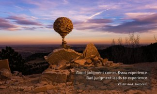 334 Relax and Succeed - Good judgment comes from experience