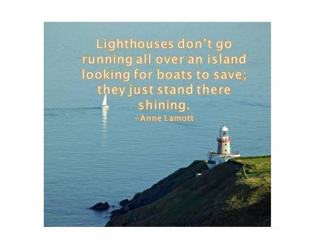 340 Relax and Succeed - Lighthouses don't go running