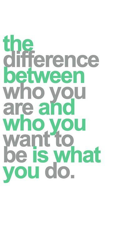 344 Relax and Succeed - The difference between who you are