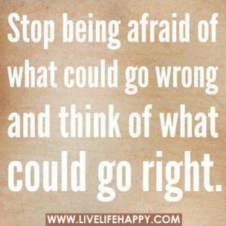 453 Relax and Succeed - Stop being afraid of what could go wrong