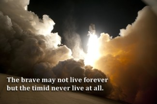 469 Relax and Succeed - The brave may not live