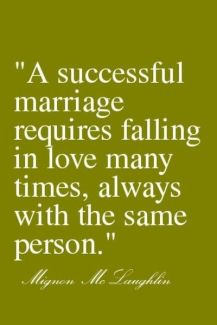 511 Relax and Succeed - A successful marriage requires falling