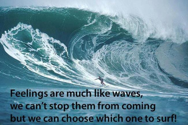 547 Relax and Succeed - Feelings are much like waves