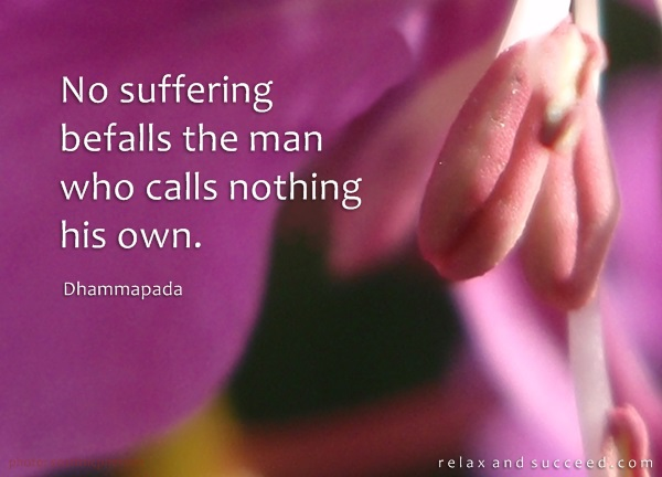 588 Relax and Succeed - No suffering befalls the man