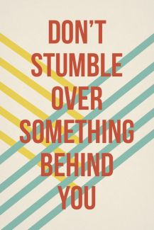 592 Relax and Succeed - Don't stumble over something